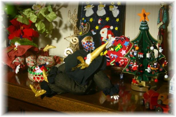 玄関クリスマス2