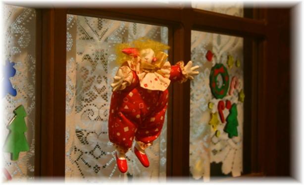玄関クリスマス3