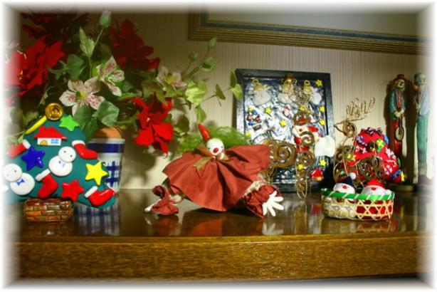 玄関クリスマス4