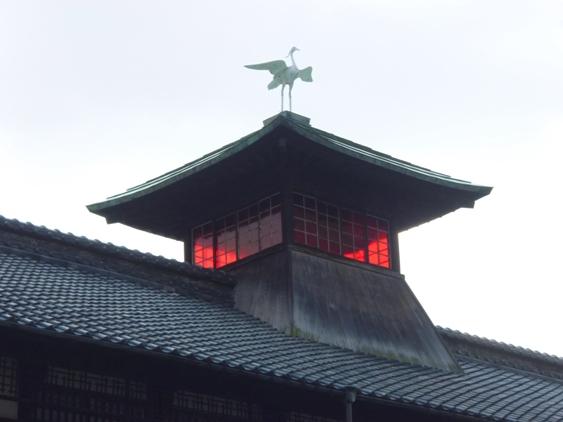 最上層の振鷺閣(しんろかく)
