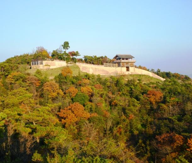 紅葉の鬼ノ城