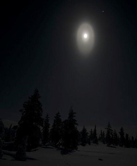 ノルウェーの月