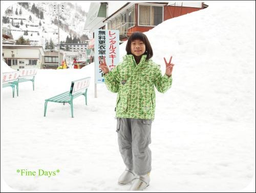 はるちゃん(2012年3月スキー)