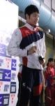 20131124swimming萩野表彰(撮影・庄司)
