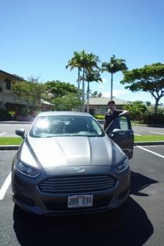 ハワイ島での相棒。