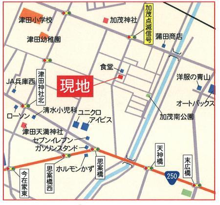 m邸周辺map