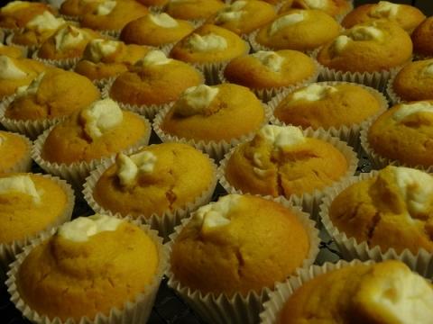 かぼちゃクリームチーズマフィン