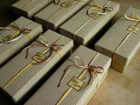 すももミニパウンドケーキと抹茶ミニパウンドケーキ詰め合わせリボン包装