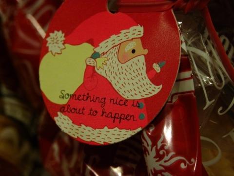 クリスマスのラッピング