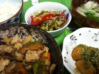 根菜と豚肉のしぐれ煮