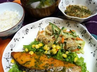 鮭のソテー・コールスローガンモ_R