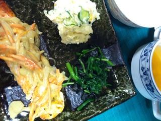 鮭のヨーグルトソース定食_R
