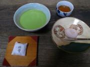 抹茶と御菓子
