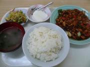 鶏肉中国味噌炒め