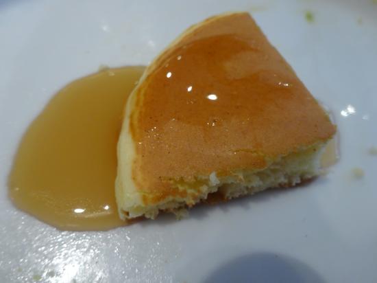 パンケーキ メープルかけ