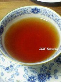 2011.2.28 文ちゃんから紅茶