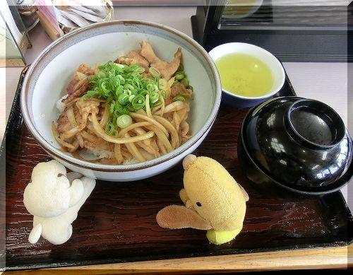 11.03.26 七塚原SA どんぐりころころ豚丼