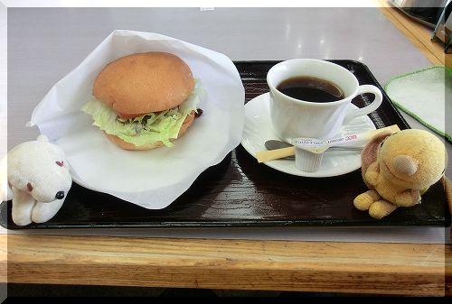 11.03.26 七塚原SA わにバーガー