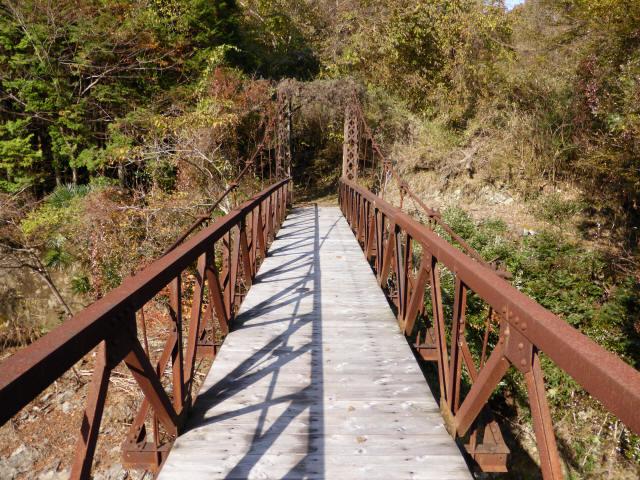 板谷川の吊橋2