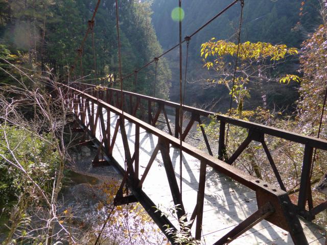 板谷川の吊橋3