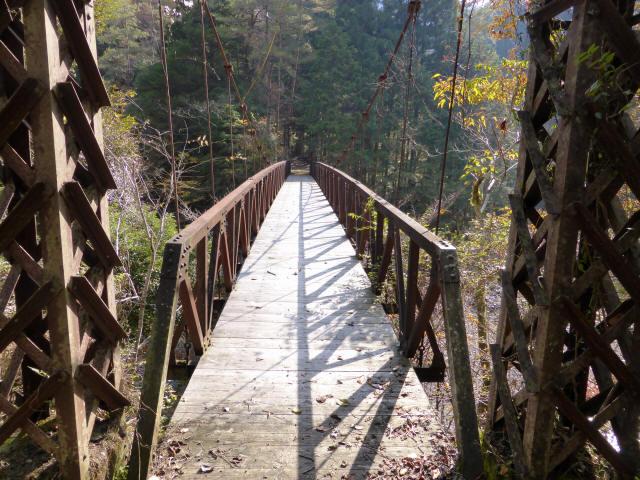 板谷川の吊橋4
