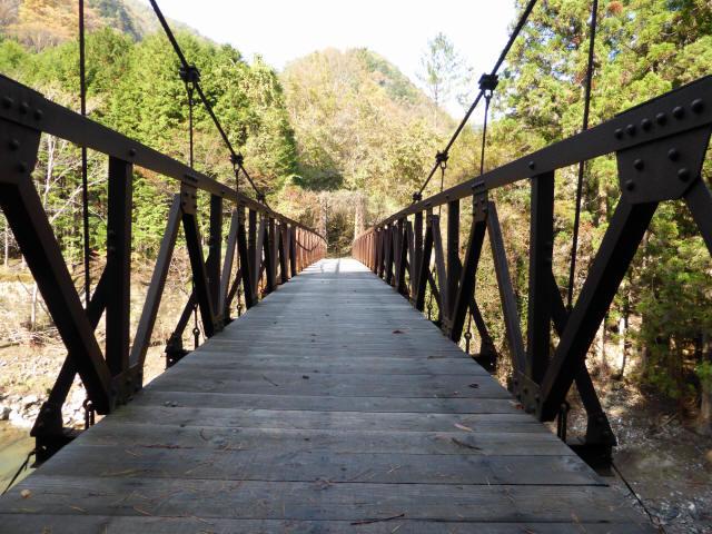 板谷川の吊橋5