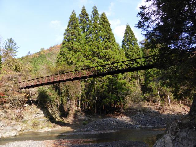 板谷川の吊橋6