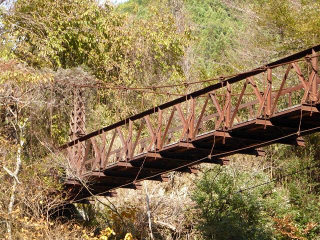 板谷川の吊橋8