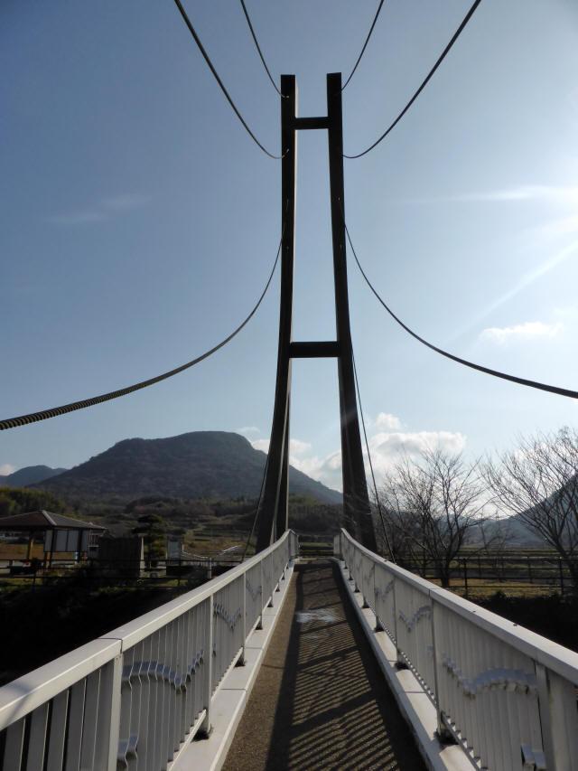 鷹栖つり橋9