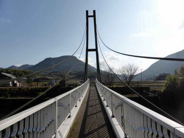 鷹栖つり橋8