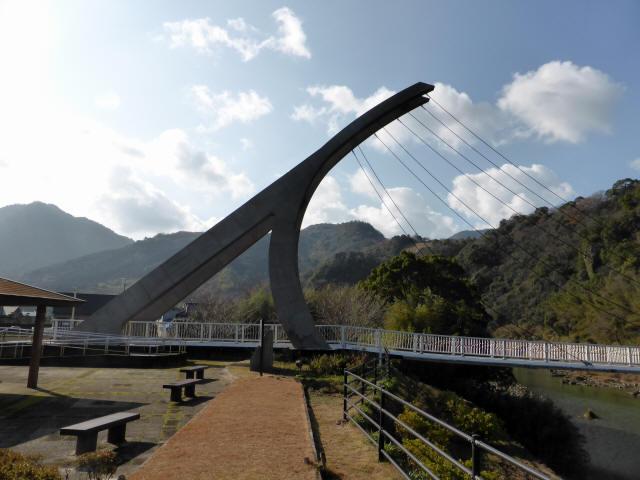 鷹栖つり橋2