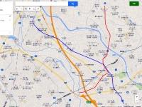武州鉄道・推定廃線路線図