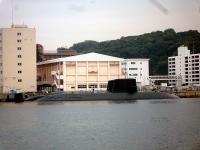横須賀本港の潜水艦