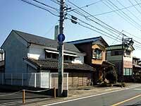 蔵造りの家々