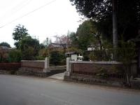 神山家煉瓦蔵・煉瓦塀