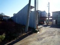 河合駅があったと思われる工場
