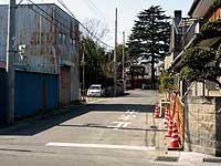 相頓寺への横道