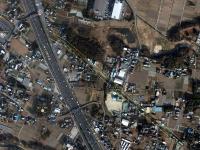 河合駅跡からの航空写真