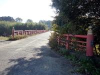 班渓寺橋と都幾川