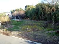 蓮田側から見た廃線跡