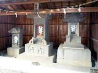 平方村河岸出入商人衆奉納の石祠