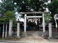 八枝神社の鳥居