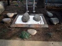 瓦葺氷川神社 力石