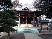 瓦葺氷川神社 社殿