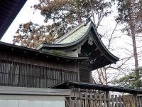 瓦葺氷川神社 本殿