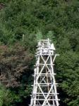 龍勢発射台の櫓のオンベイ
