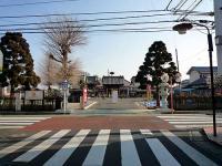 新参道と山門