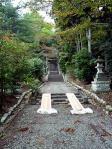 湯本山神社参道