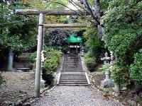 湯本山神社・二の鳥居
