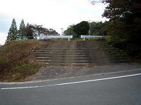 自治会館跡の階段